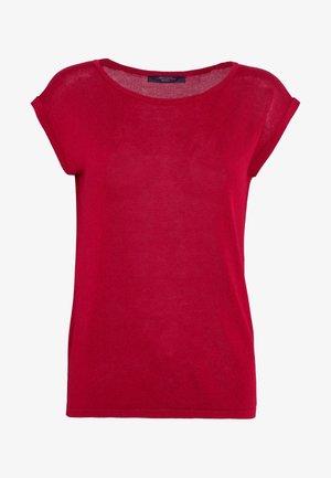 DORIA - Print T-shirt - bordeaux