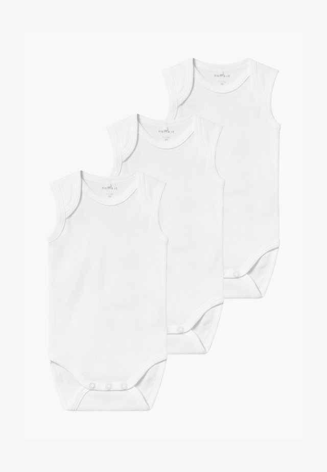 NBNBODY TANK SOLID 3 PACK - Body / Bodystockings - bright white