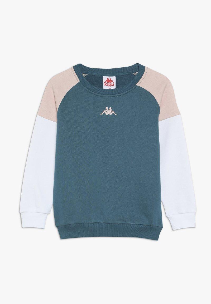 Kappa - FILICITUS - Sweatshirt - blue/coral