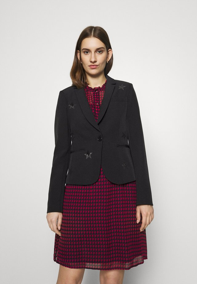 GIACCACORTA LUXURY - Blazer - black