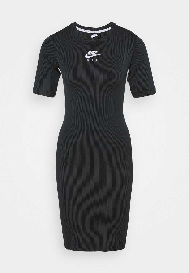 Nike Sportswear - AIR DRESS - Vestido de tubo - black/iron grey/white