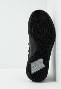 Nike Performance - AIR VERSITILE IV - Basketball shoes - black/metallic cool grey/anthracite - 4