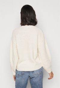 New Look Petite - FASHIONED JUMPER - Jumper - off-white - 2