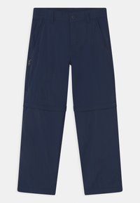 Columbia - SILVER RIDGE CONVERTIBLE 2-IN-1 UNISEX - Outdoor trousers - collegiate navy - 0