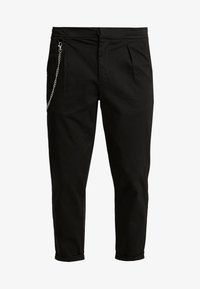 LEE CROPPED PANTS - Trousers - black