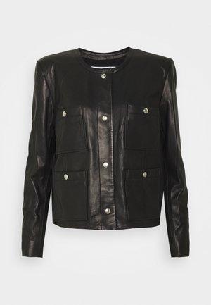 COMPLET  - Leather jacket - black