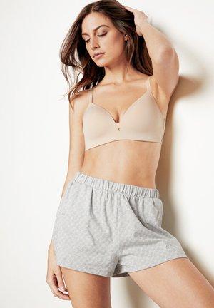 Triangle bra - nude