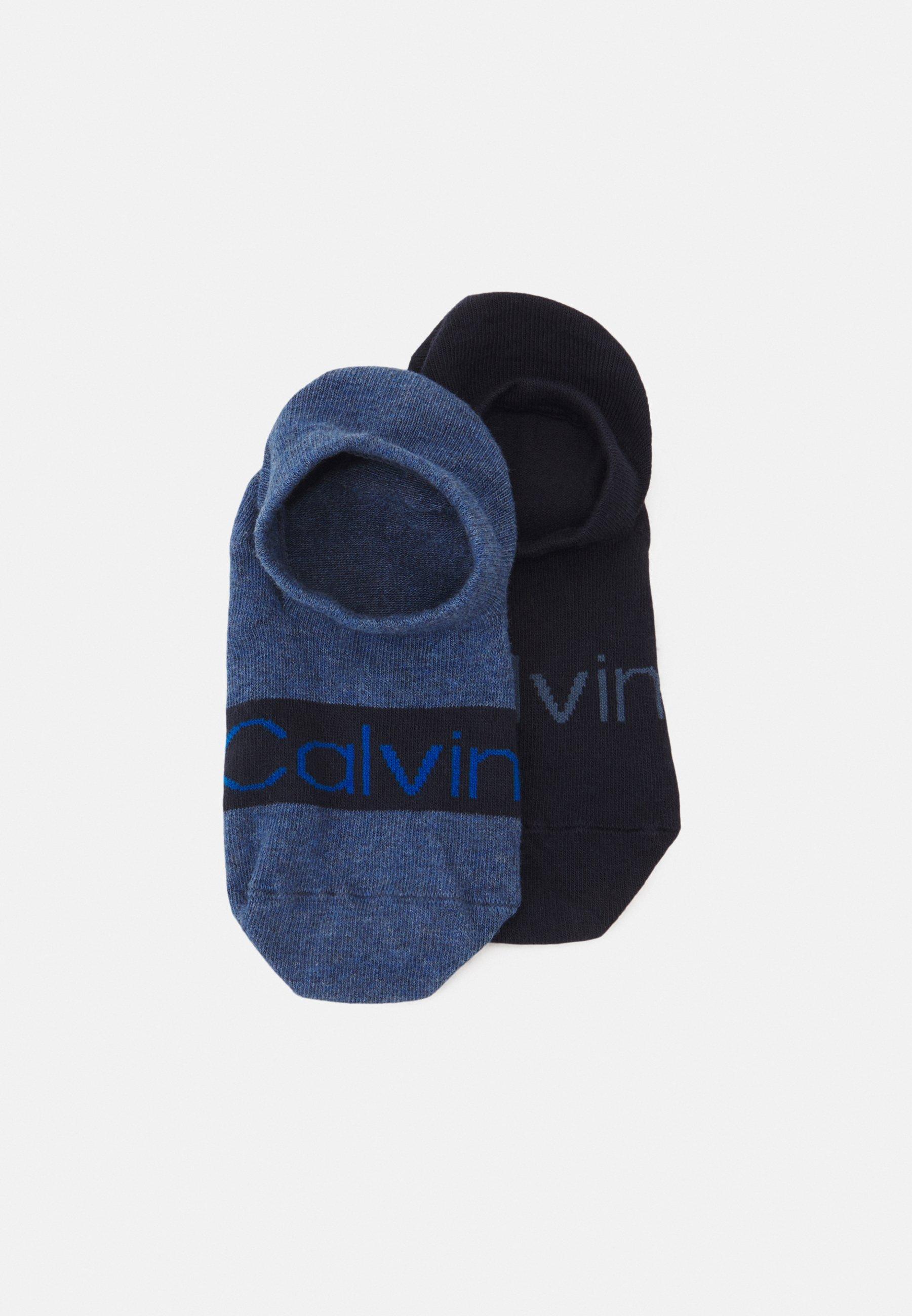 Men FOOTIE HIGH CUT LOGO 2 PACK UNISEX - Socks