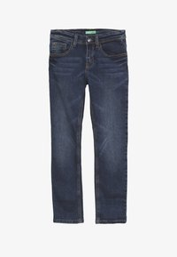 Benetton - TROUSERS - Jeansy Slim Fit - blue - 2