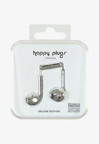 Happy Plugs - PLUS DELUXE - Høretelefoner - silver - 0