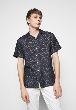 CAMP COLLAR - Shirt - dark blue