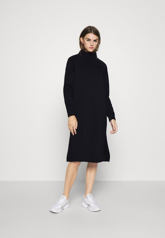 ONLLOLA HIGHNECK DRESS - Day dress - black