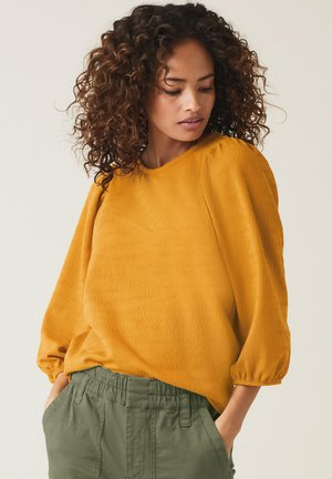Long sleeved top - ochre