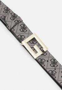 Guess - BRIGHTSIDE ADJUST PANT BELT - Belt - black - 2