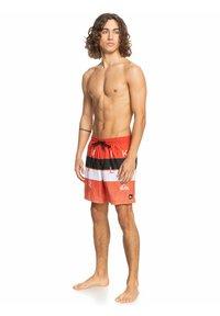Quiksilver - WBLCKVLY - Swimming shorts - pureed pumpkin - 1