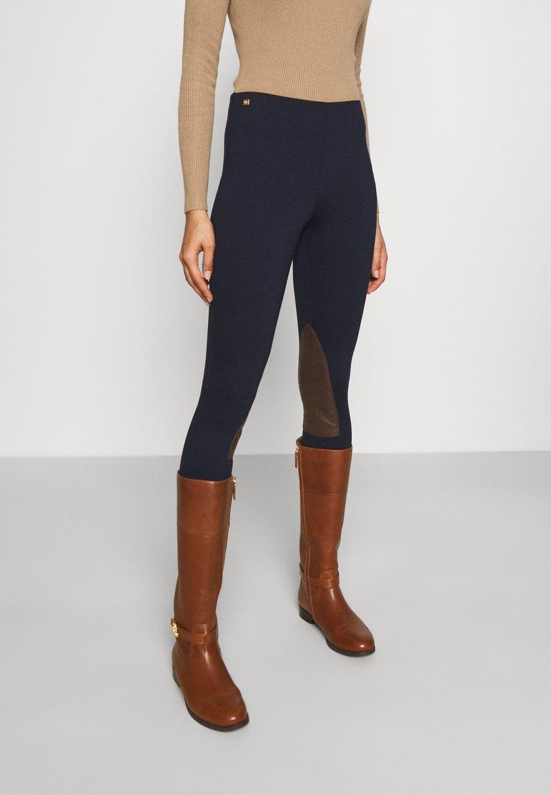 Lauren Ralph Lauren - ATHEDORA - Leggings - Trousers - navy