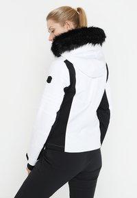 Superdry - SLEEK PISTE SKI JACKET - Ski jacket - white - 2
