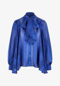 YAS - HEMD  - Button-down blouse - sky captain - 0