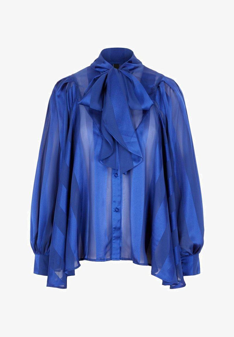 YAS - HEMD  - Button-down blouse - sky captain