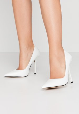 NEONA - Zapatos altos - white