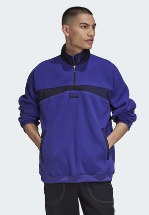 R.Y.V. SWEATSHIRT - Fleece jumper - purple