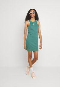Puma - CLASSICS SUMMER DRESS - Jersey dress - blue spruce - 1
