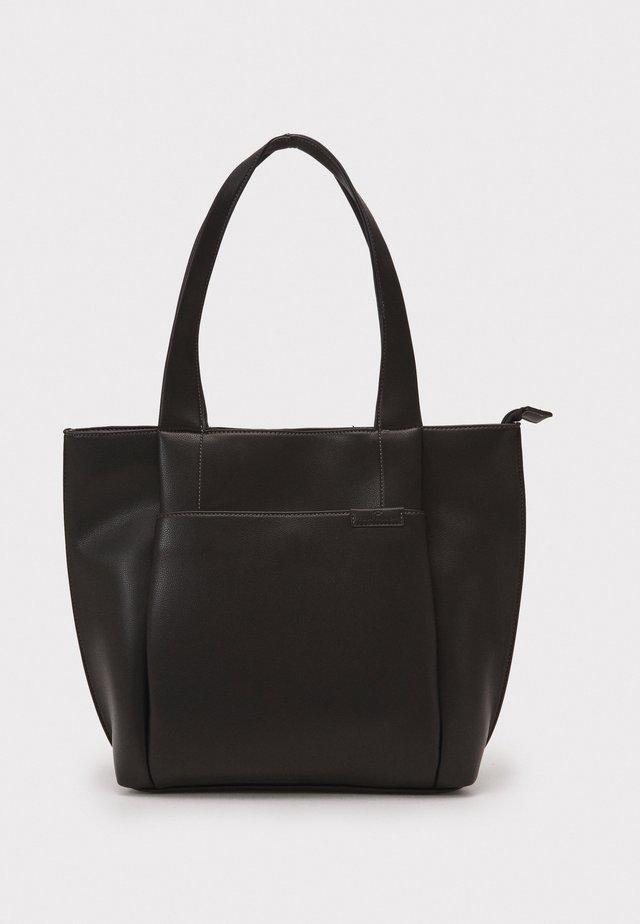TARA - Bolso shopping - black