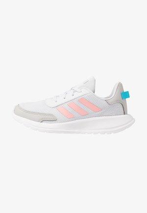 TENSAUR RUN UNISEX - Neutral running shoes - dash grey/glow pink/bright cyan