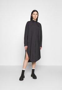 Monki - CAROL DRESS - Shirt dress - grey dark - 0