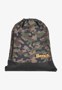Bench - CLASSIC  - Drawstring sports bag - olivgruen - 0