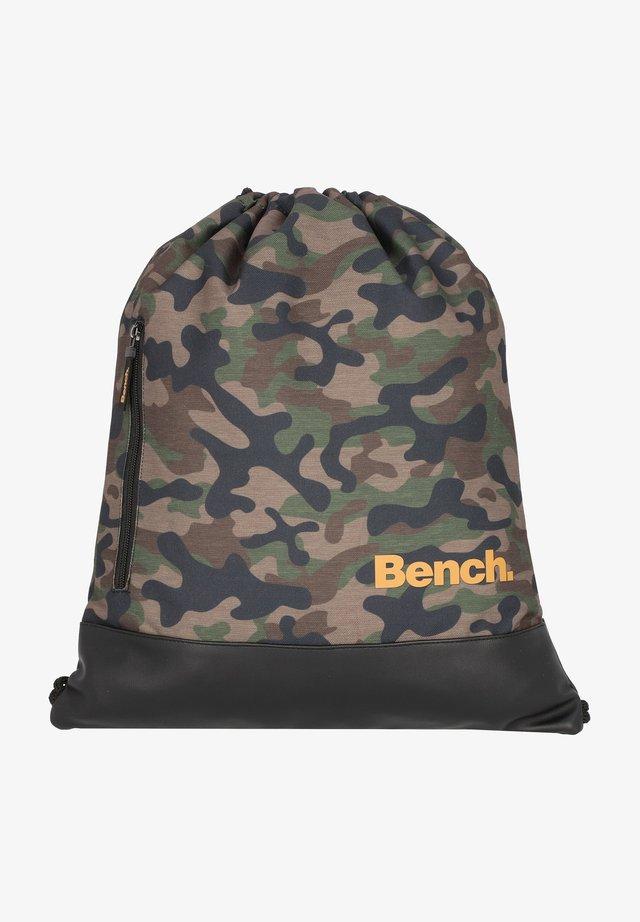 CLASSIC  - Drawstring sports bag - olivgruen