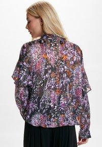 InWear - HILMA - Button-down blouse - purple flowers - 2