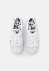 adidas Originals - NIZZA PLATFORM UNISEX - Baskets basses - footwear white - 3
