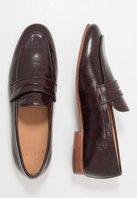 Hudson London - CALIBRO - Smart slip-ons - brown - 1