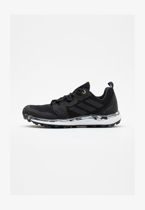 TERREX AGRAVIC RUNNING SHOES - Løpesko for mark - core black/grey six/grey four