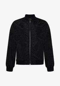 Ed Hardy - DRAG-CLOUD NYLON BOMBER JACKET - Summer jacket - black - 6