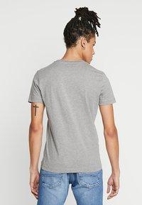 Calvin Klein Jeans - MONOGRAM FRONT LOGO SLIM - Print T-shirt - grey - 2
