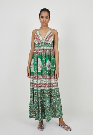 Maxi-jurk - verde, multicolor