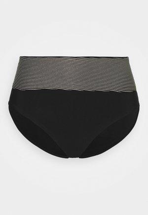 VIBRANT HIGHWAIST - Bikini bottoms - black