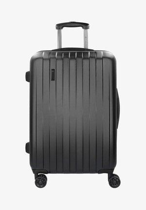 MIT DOPPELROLLEN - Wheeled suitcase - black