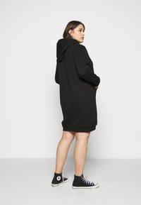 Even&Odd Curvy - SWEAT DRESS - Day dress - black - 2