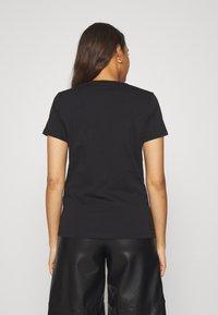 Diesel - T-SILY-E52 T-SHIRT - T-shirt imprimé - black - 2