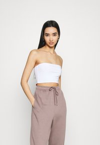 Missguided - SCULPTED SEAM FREE BASIC BANDEAU 3 PACK - Top - black/white/red - 2