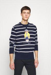 Polo Ralph Lauren - BASIC  - Sweatshirt - cruise navy/white - 0