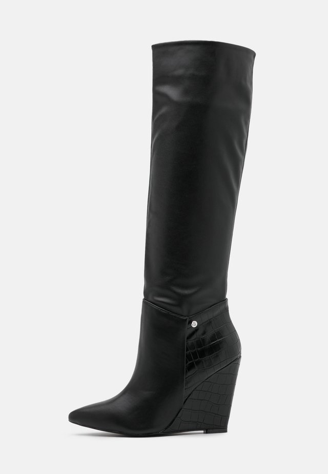 JINGLE - High heeled boots - black