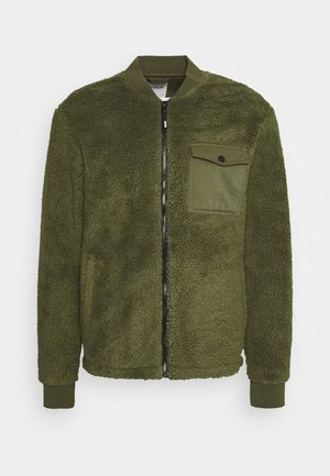 JACKET BOMBER - Giubbotto Bomber - forest night