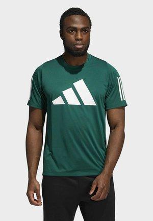 T-shirt con stampa - collegiate green