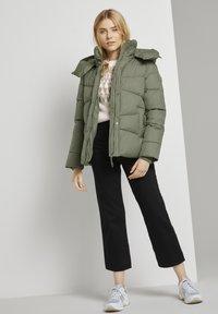 TOM TAILOR - Winter jacket - greyish green - 1