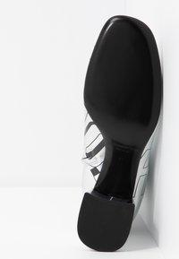 McQ Alexander McQueen - PHUTURE BOOT - Støvletter - silver/black - 6