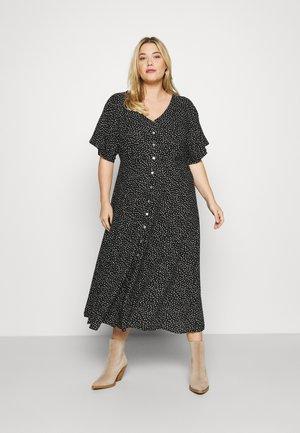 EVIGA MIDI DRESS - Day dress - black